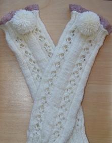 white leg warmer 1